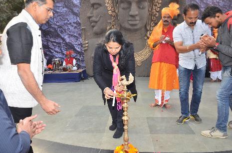 दिल्ली मेें हुआ महराष्ट्र के महा मेले का उदघाटन