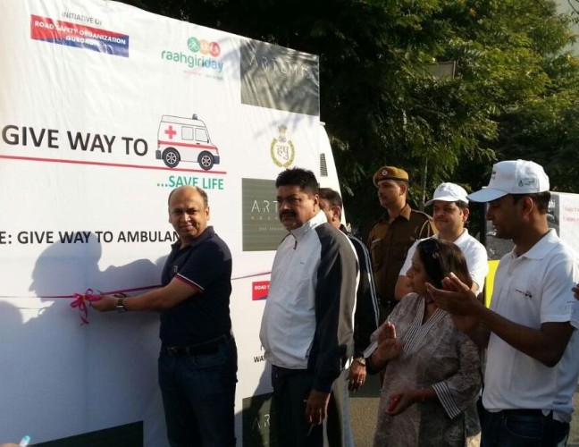 Launch of 'Give Way to Ambulance' Campaign – Save Life