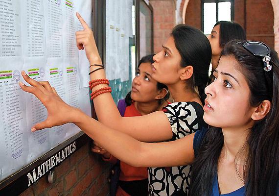 नही हो पा रहे है दाखिले अच्छे नॉ लाने पर भी : दिल्ली विश्वविद्यालय