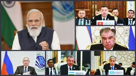 Prime Minister virtually participates in 21st Meeting of the Council of Heads of State of the Shanghai Cooperation Organisation