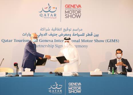 Qatar Tourism X Geneva International Motor Show partnership