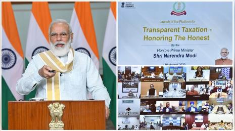 "Prime Minister launched the platform for ""Transparent Taxation – Honoring the Honest"""