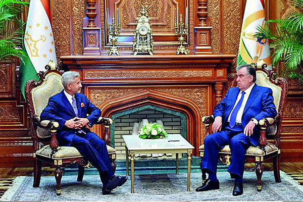 S Jaishankar Holds Talks With Russian Counterpart