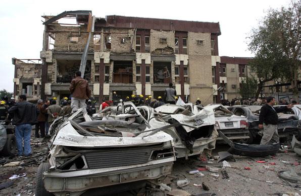 इराक में फिर हुआ बम धमाका