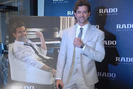 Hrithik Roshan Inaugurated the First RADO Boutique in Pune Situated at MG Road, Camp