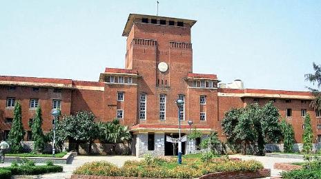 दिल्ली विश्वविद्यालय  में प्रवेश लेना मुश्किल