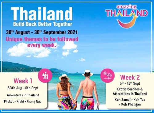 Tourism Authority of Thailand (India) kickstarts 'Thailand Build Back Better Together' Campaign