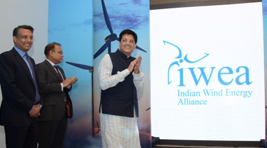 Piyush Goyal to launch of the Indian Wind Energy Alliance