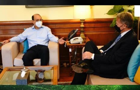 FS Shringla calls on US Secretary of State Antony Blinken